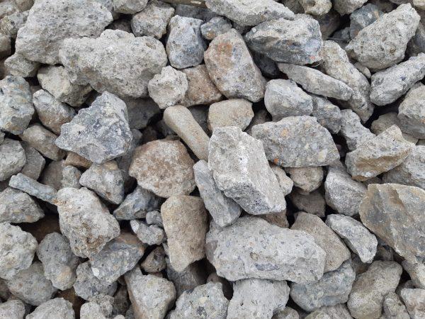 Aufnahme von PANNONIA Betonrecycling Material 32-63 mm grau