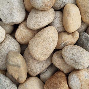 Nahaufnahme von PANNONIA Klaubsteinen 200-400 mm natur für Biotopbau