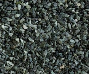 Marmorsplitt, alpen-grün