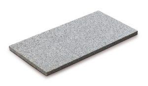 Steinplatte, Granit-weiß