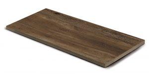 Steinplatte, Keramik Holzmaserung scuro