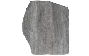 Steinplatte polygonal, holz-grigio