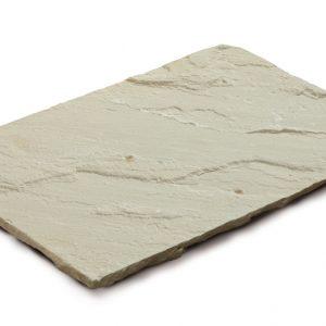Aufnahme einer PANNONIA Steinplatte in mint-beige