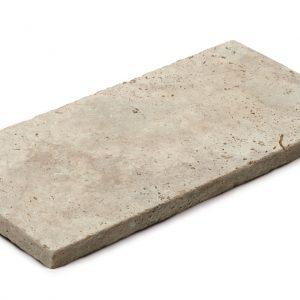 Aufnahme einer PANNONIA Steinplatte travertin