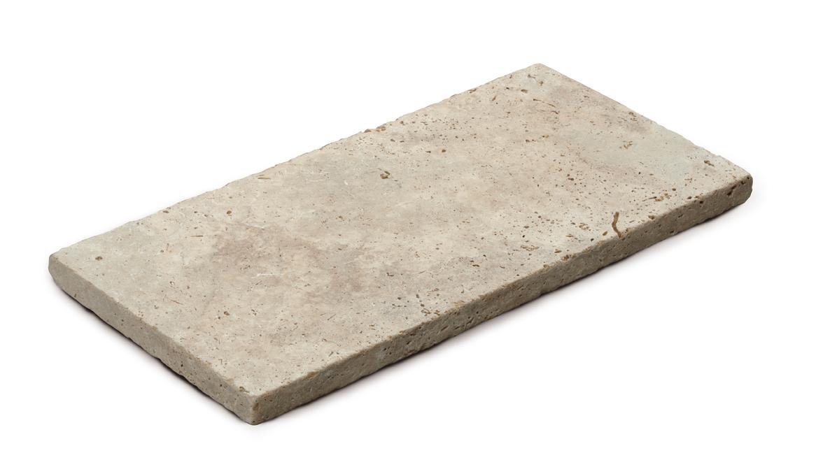 Steinplatte, travertin-klassisch