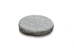 Trittsteinplatte, Granit-rund