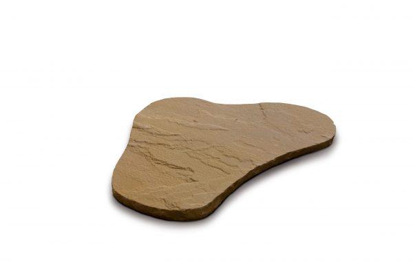 Aufnahme einer Trittsteinplatte in rot-braun von PANNONIA