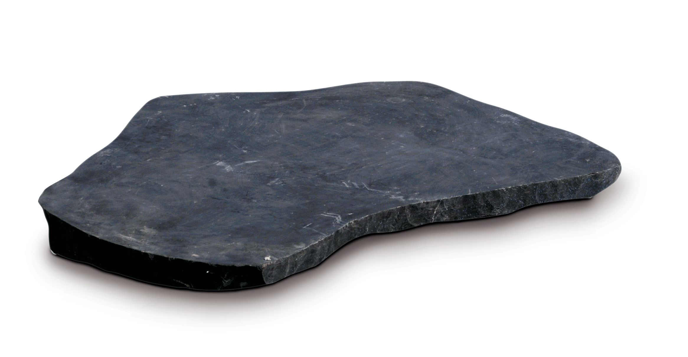 Trittsteinplatte polygonal, schwarz