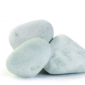 Aufnahme von PANNONIA Ziersteinen 200-400 mm in carrara-weiß