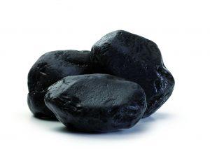 Zierstein, ebano-schwarz