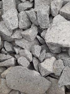 Ziersteine für Gabionen, Granit